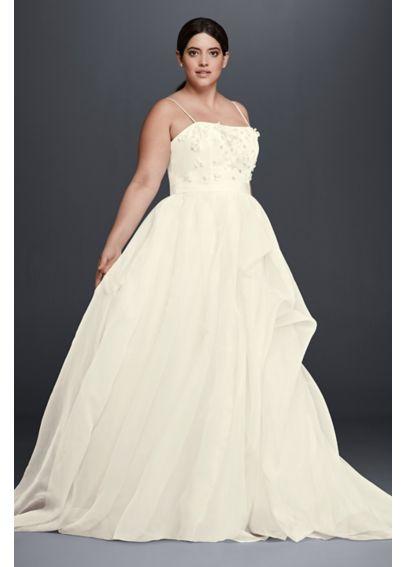 vestidos de novia para gorditas con poco busto