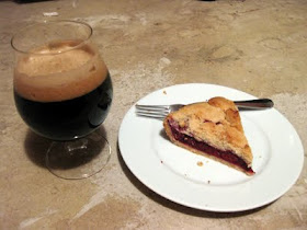 Bourbon, sour cherries, porter, and pie... can't go wrong.
