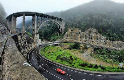 jembatan layang kelok 9 payakumbuh