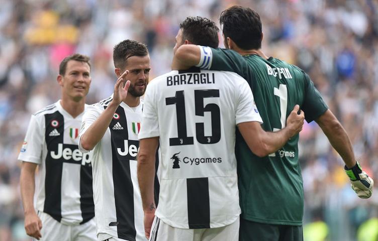 "Barzagli: ""Buffon je najbolji golman svih vremena"""