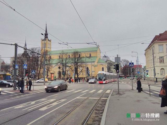 [愛沙尼亞/塔林] 我所見過最優.最人性化的輕軌電車