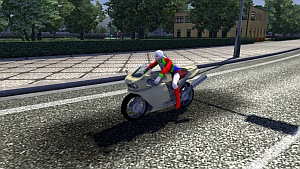 Kenshin Motorcycle for Ai traffic