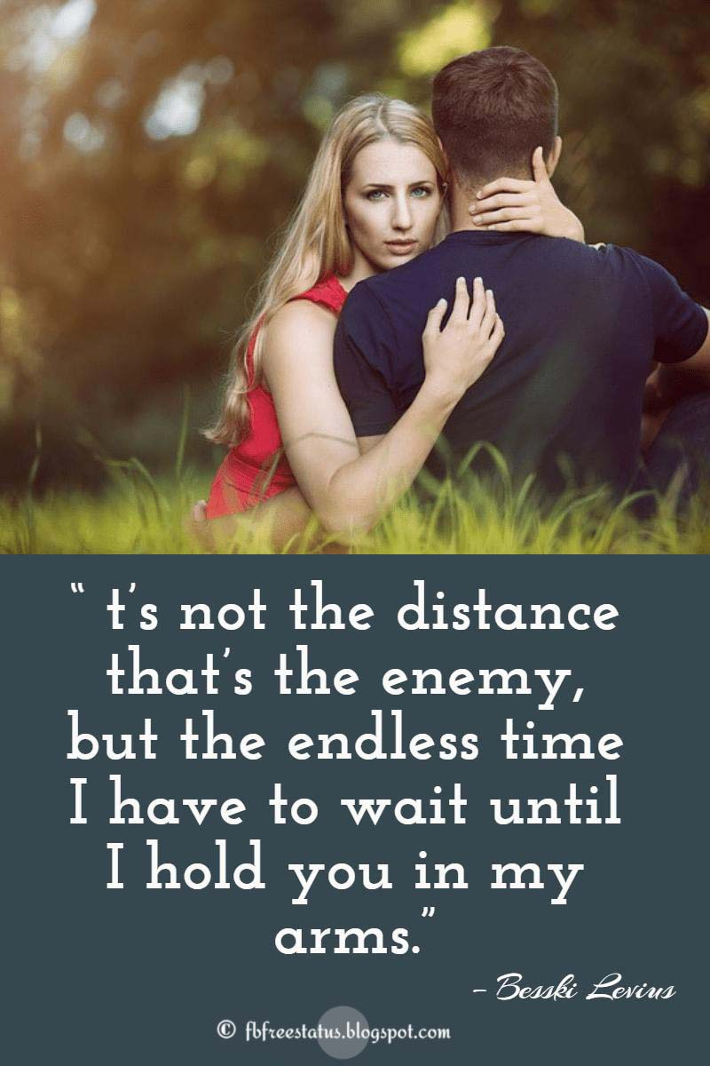 Distance mean nothing quotes