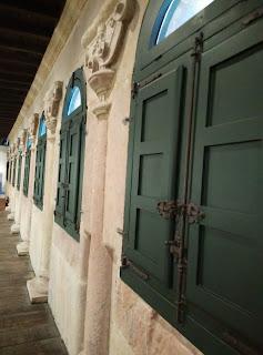 Calzada romana en el museo etnográfico de Oviedo