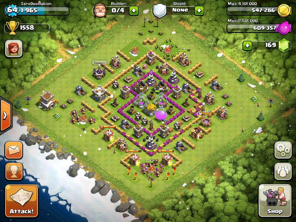 clash of clans base 02