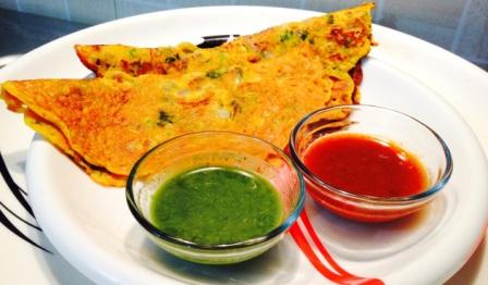 बेसन का चीला बनाने की विधि | Besan Ka Cheela Recipe in Hindi