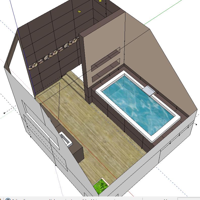 Bricolage de l 39 id e la r alisation salle de bain for Une salle de bain com