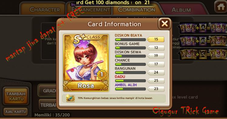 Cara Mendapatkan Diamond Get Rich Gratis