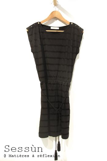 Robe noire Corcovado Sessùn