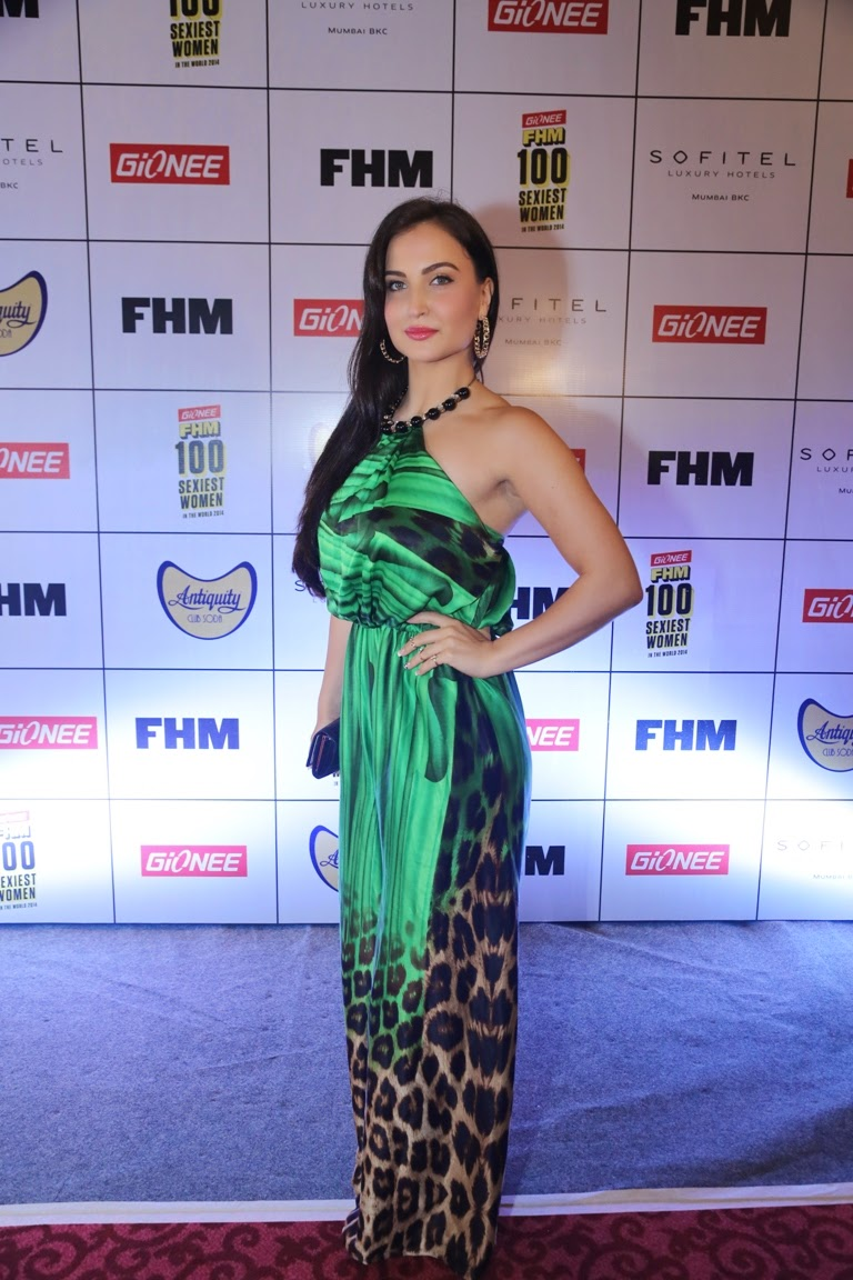 Elli Avram at Gionee FHM Sexiest 100