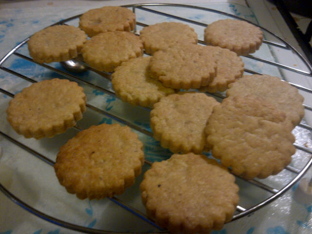 Hummingbird Cake Recipe Joy Of Baking: United Cakedom: Parmesan Shortbreads! {hummingbird Bakery