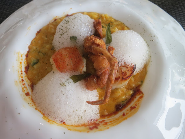 Reconstructed Laksa Risotto