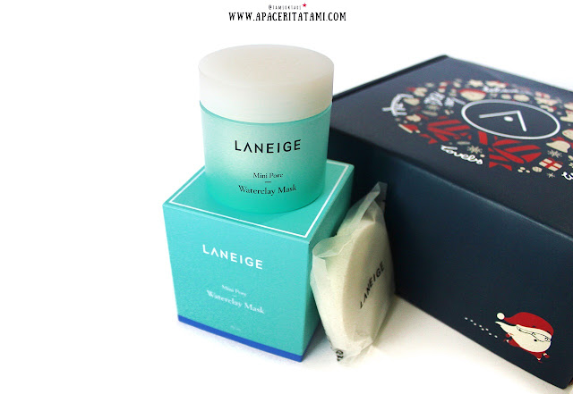 Unboxing Althea Korea-Laneige Mini Pore Clay Mask