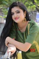 Akshitha cute beauty in Green Salwar at Satya Gang Movie Audio Success meet ~  Exclusive Galleries 011.jpg