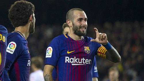 Vidal đã quay trở lại để trở thành kép chính ở Barca
