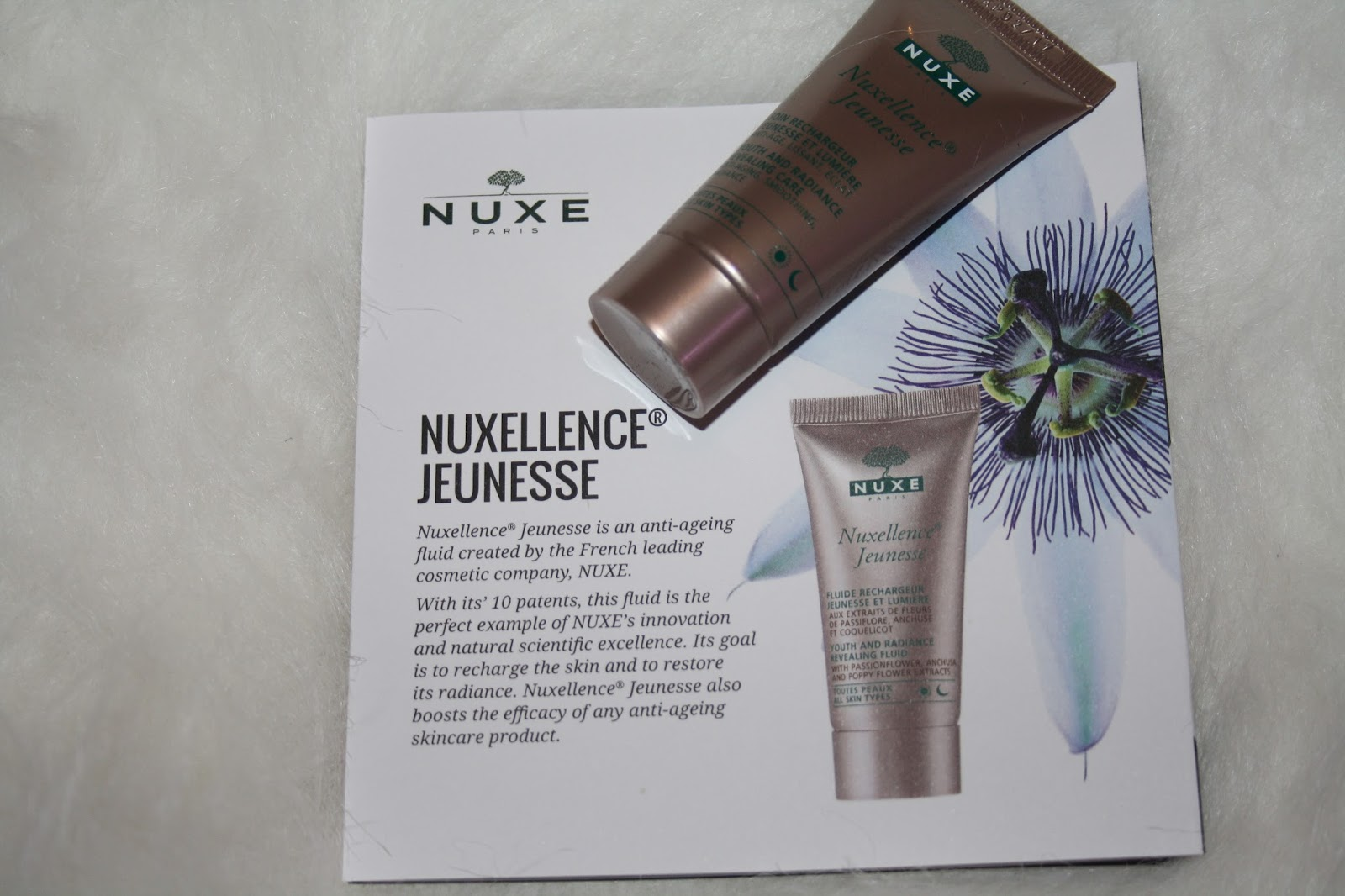 Look Fantastic November Beauty Box - Nuxe