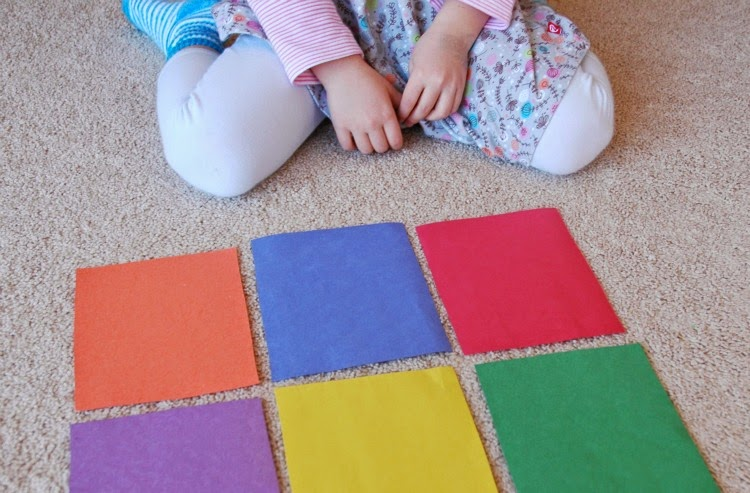 Rainbow and Colors Literacy Activity for Preschool