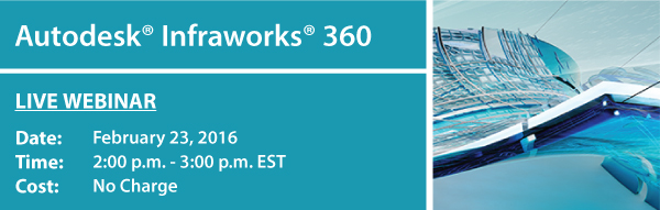 Autodesk Infraworks 360 Webinar presented by Repro Products