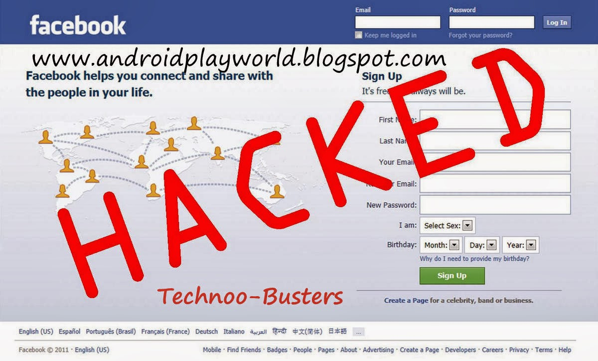 Hack facebook account- How to hack facebook account without any
