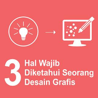 3 Hal yang wajib di ketahui sebagai desain grafis