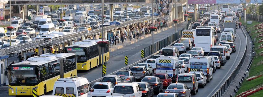 Trafikte Tahammülsüzlük Var