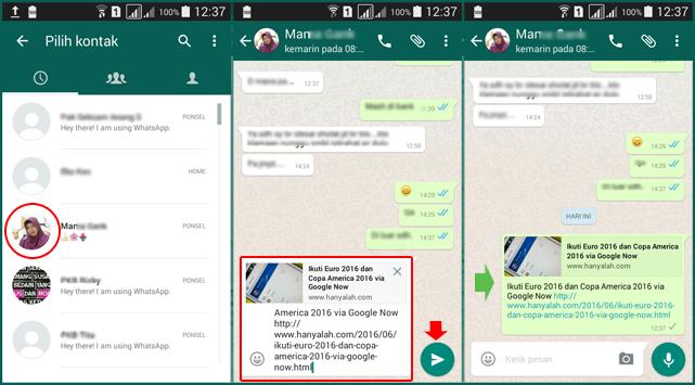 Cara Menampilkan Tombol Share WhatsApp