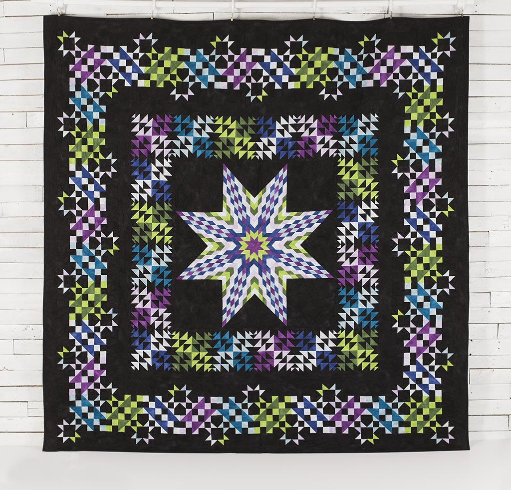 Quilt Pattern Radiant Star : Open Gate Blog: May 2016
