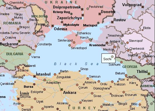 sochi mapa SOCHI, UMA NOVA RÚSSIA QUE SE REVELA | Viajar pelo Mundo! sochi mapa