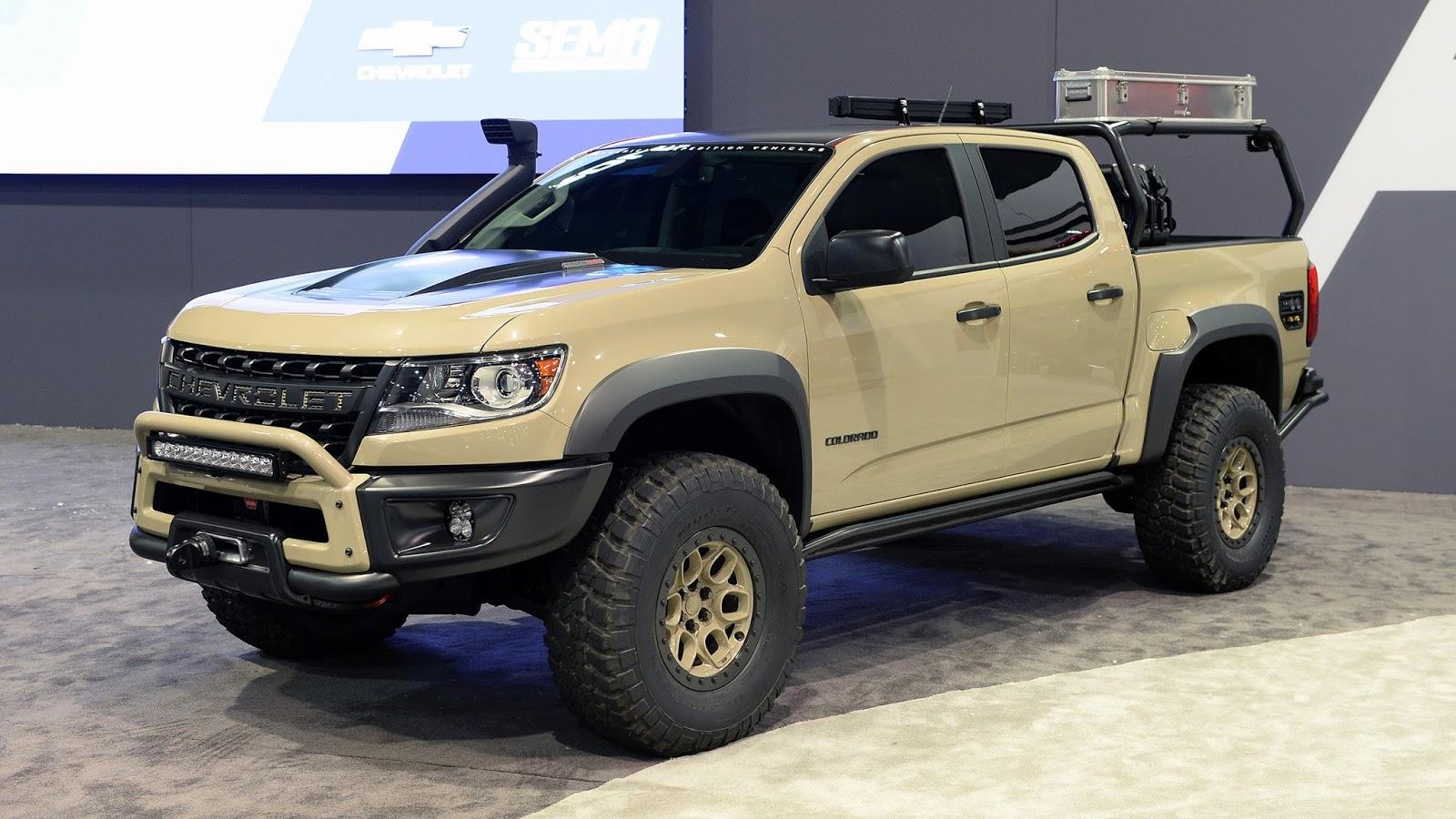 Colorado chevy colorado zr2 concept : Automotiveblogz: Chevrolet Colorado ZR2 AEV Concept: SEMA 2017