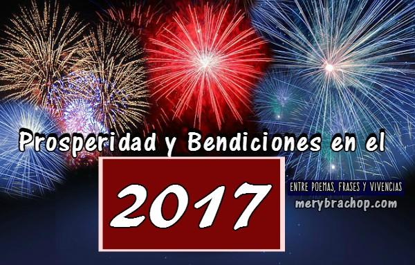 Mensajes cristianos de feliz año 2017 con citas bíblicas, versículos para año nuevo, frases cristianas Mery Bracho