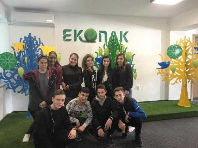 Ученици от тетевенските училища посетиха Образователния център ЕКОПАК България в София