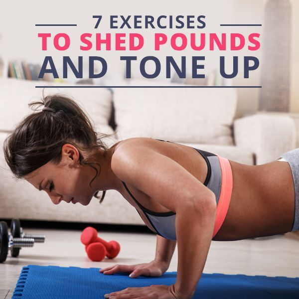 7 Exercises to Shed Pounds and Tone-Up Publish