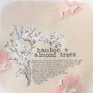bamboo + almond trees Ponytails and Paper Fails