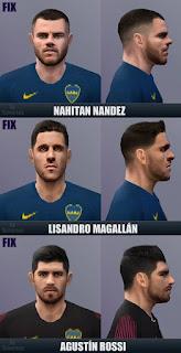 PES 6 Fixpack Boca Juniors 2018 by Sevenes