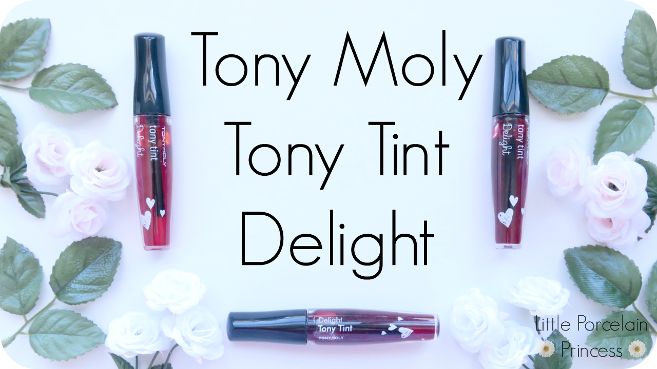 Little Porcelain Princess Review Tony Moly Tint Delight Liptint Original Korea Today Im Going To Be Talking About The Lip Tints These Are Updated Version Of I Believe Old