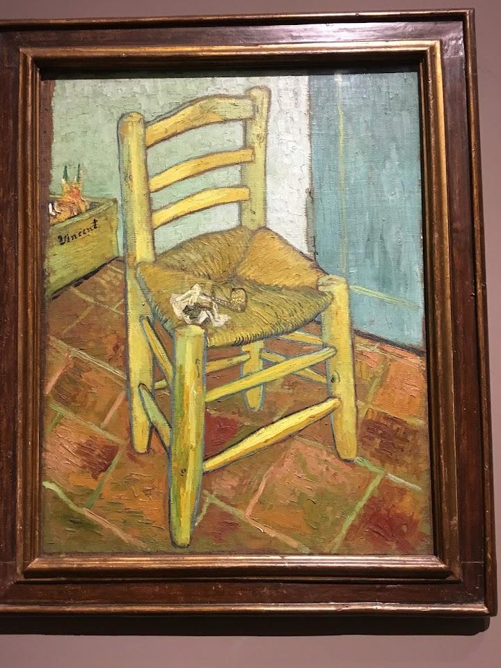 ファン・ゴッホの椅子(Van Gogh's Chair)1888年