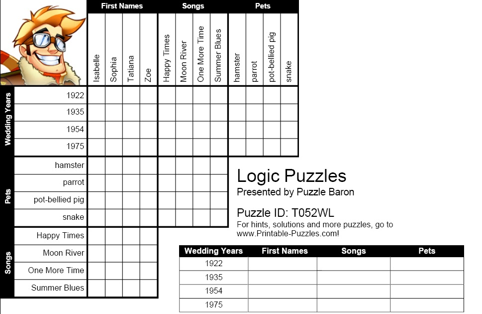 IH Milan Students' blog: Logic Puzzle No.2