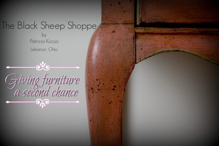 The Black Sheep Shoppe.  Giving furniture a second chance.