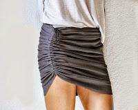 DIY: transformar una falda con un cordón (fácil)