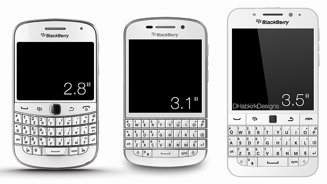 BlackBerry Classic Superb White Version Smartphone Launched