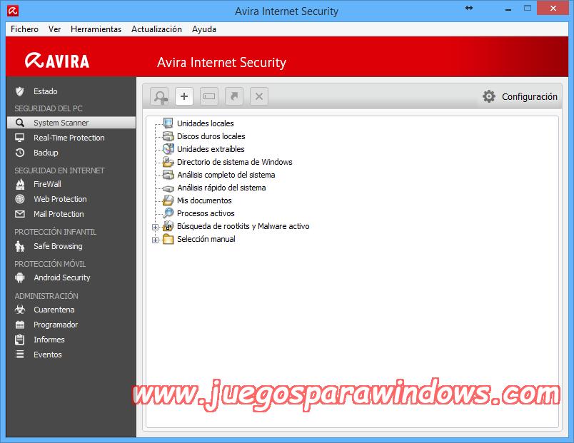 Avira Internet Security v14.0.4.642 Full PC ESPAÑOL 13