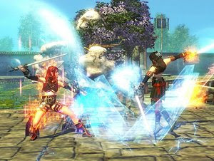 Scarlet Legacy free 3D fighting MMORPG