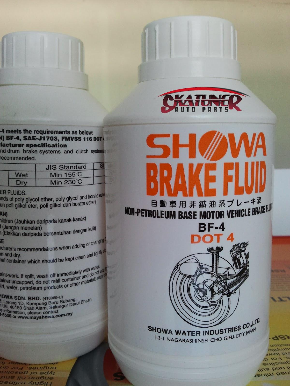 Skatuner Auto Parts: SHOWA DOT 4 BRAKE FLUID