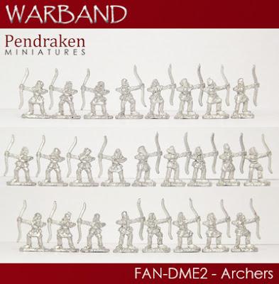 FAN-DME2   25 x Archers