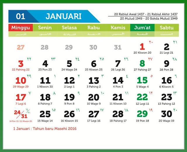 Cara membuat Kalender 2017 dengan Publisher sama seperti buatan Coreldraw