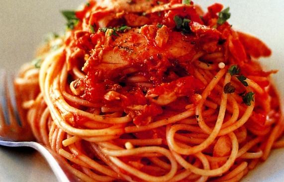 resep spaghetti goreng resep masakan praktis indonesia Resepi Spaghetti Tuna Enak dan Mudah
