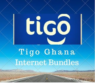TIGO Ghana Internet Data Bundle Plans And Settings