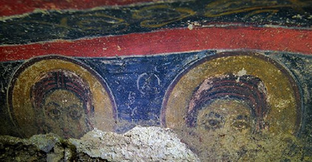 Ancient church discovered in underground city