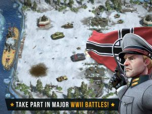 Battle Islands Commanders MOD APK Unlimited Gold Money