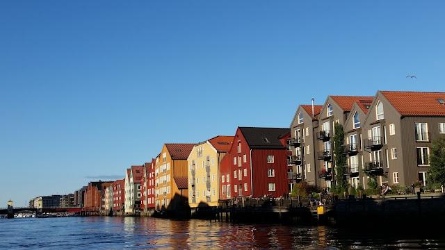 """Die """"Skyline"""" von Trondheim"""